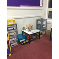 Our maths resources and maths 'play' area