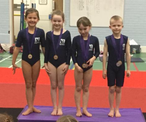 Year 34 Gymnastic Winners