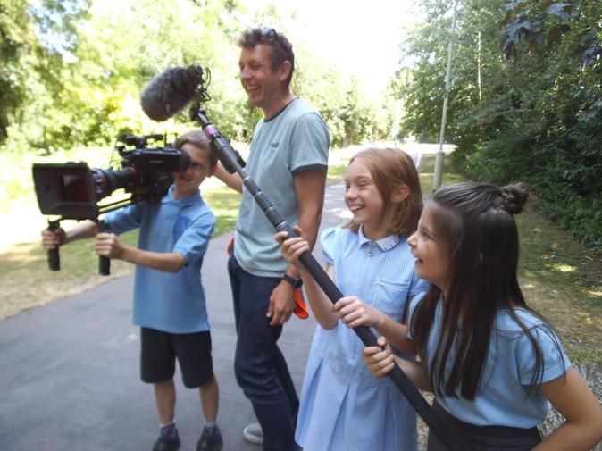 BBC Film Crew in!