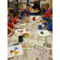 Whilst groups completed their art task!