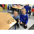 Creating in the loose parts area