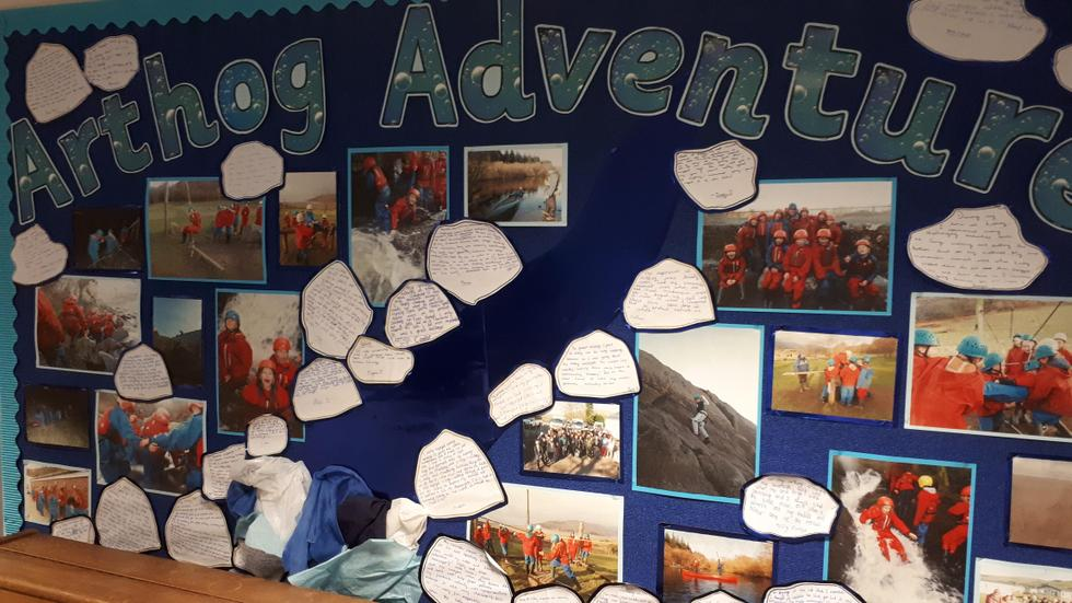 Arthog adventure display