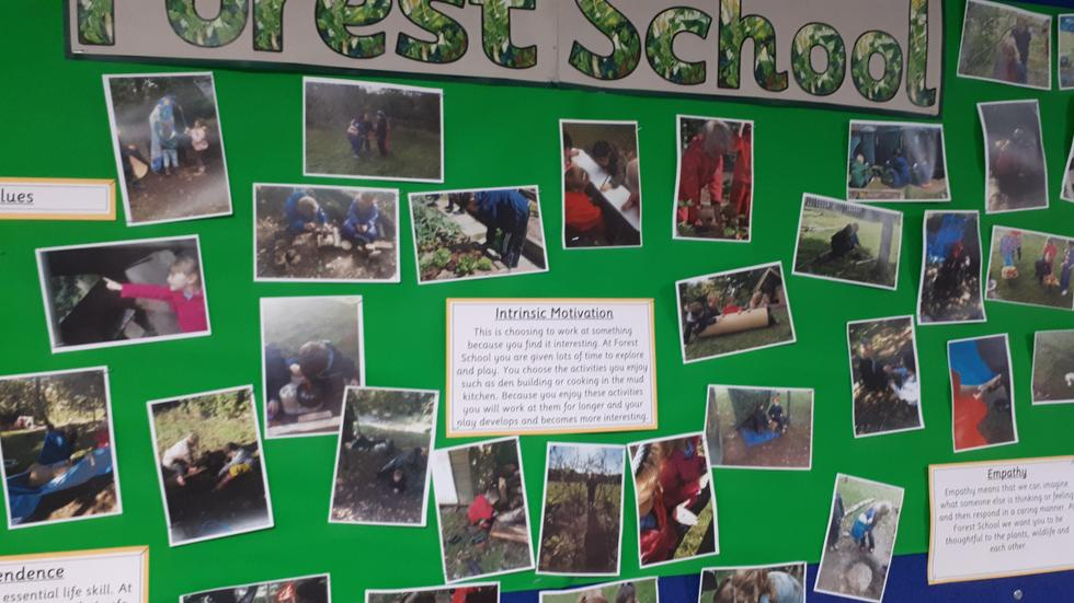 Mount Pleasant has it's own forest school
