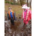 Getting muddy! (sorry)