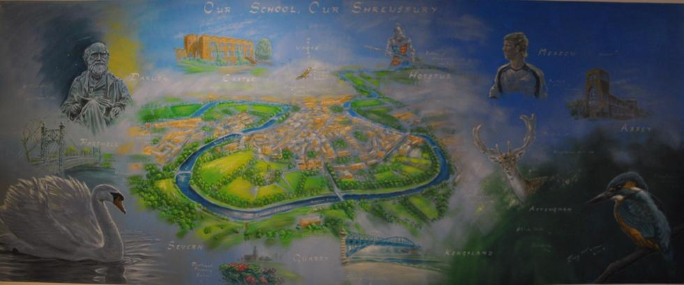 'Our school, our Shrewsbury' by Rory McCann