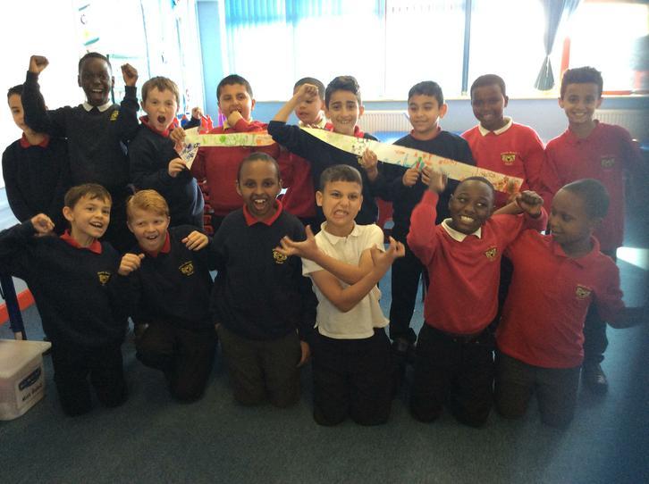 The boys' celtic spear