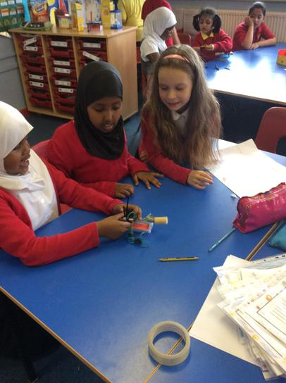 We made 'brushbots' by making a circuit.