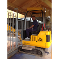 Mays' Dad had a go on the digger too!