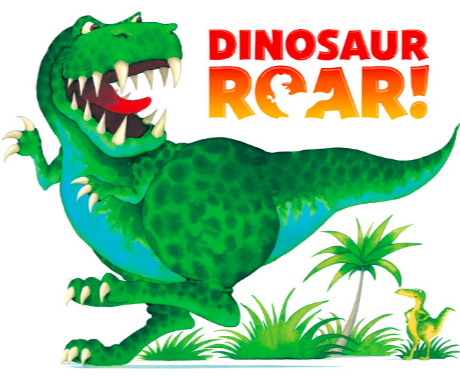 Encourage your child to move & act like a dinosaur