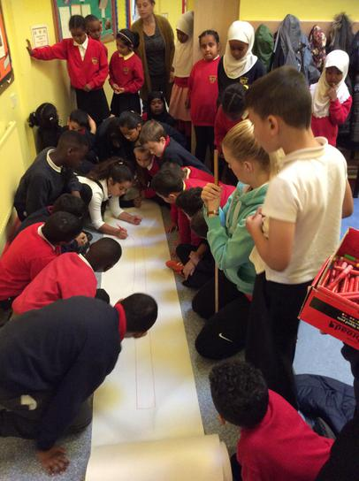 Measuring how long a celtic spear is