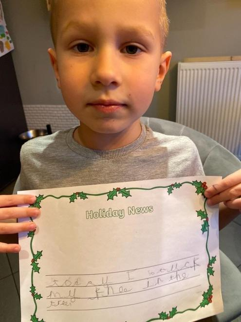Ollie's writing