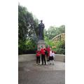 The Emiline Pankhurst statue.
