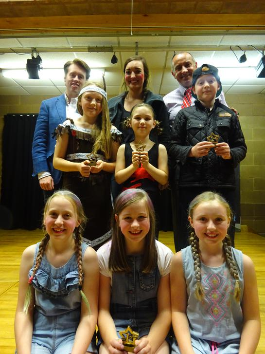 Winners and judges of Moyallon's Got Talent 2016