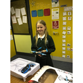 Lucy with her drone
