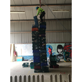 New record for crate stacking!!