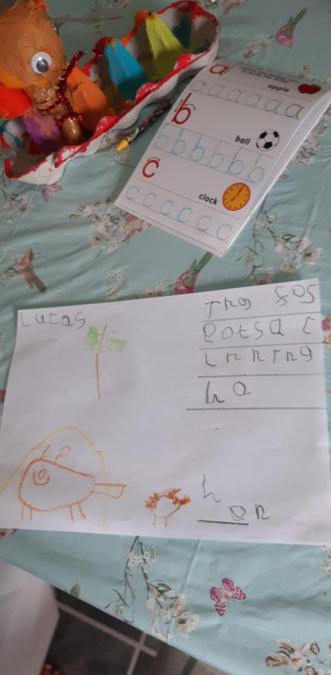 Lucas has written about Rosie's walk