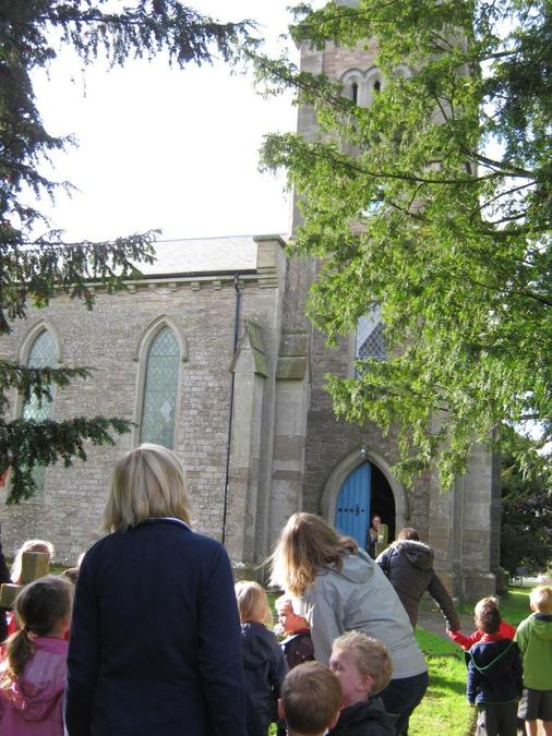 Trip to Much Birch Church