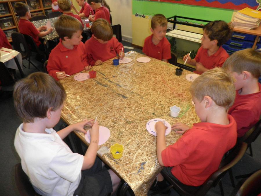Making peace dove – Year 1