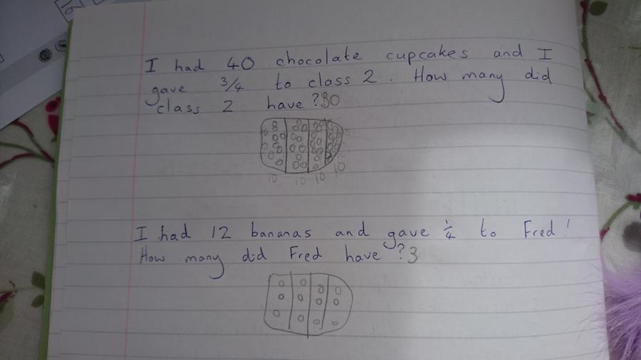 Chloe's maths