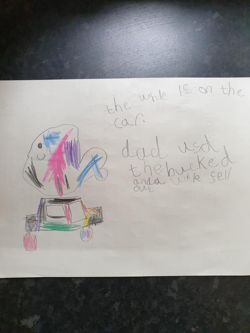 Frank- Billy's bucket writing