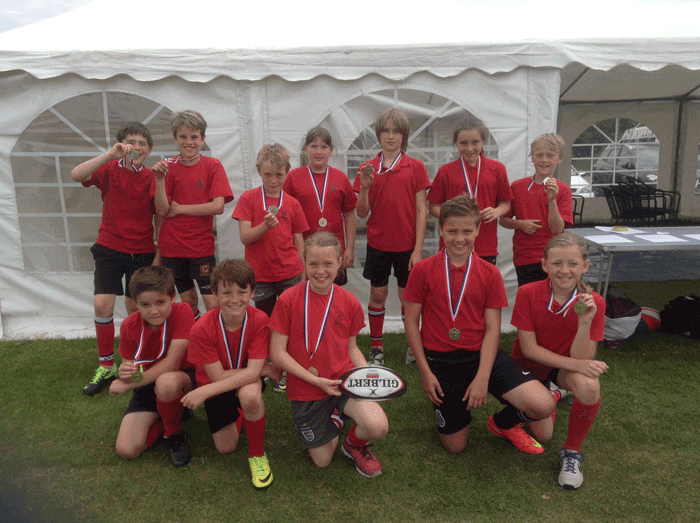 Tag Rugby – Droitwich Semi Finalists
