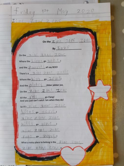 Enzo's poem