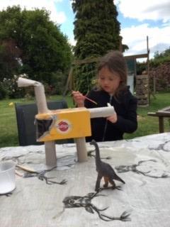 Sophie's dinosaur
