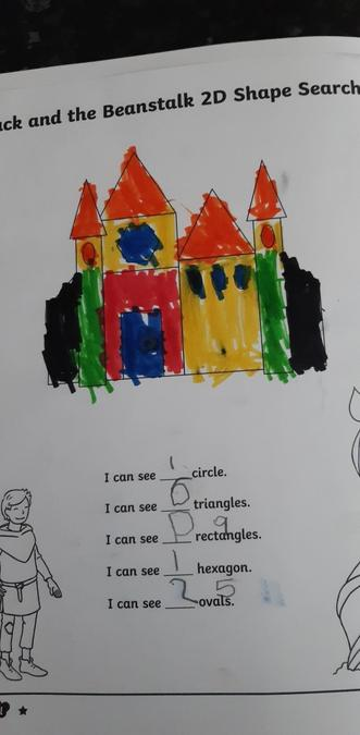 Lucas 2D shape castle