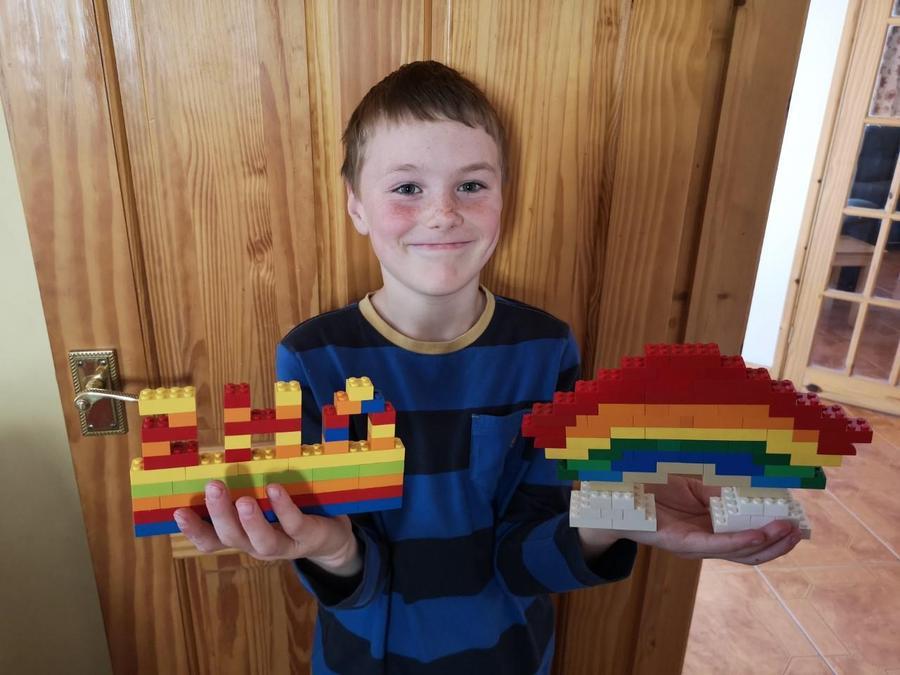 Preston's NHS Lego.