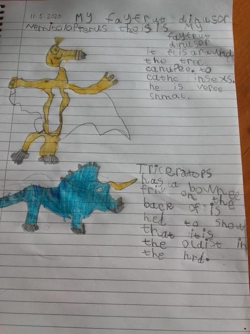 Phoebe's dinosaur facts