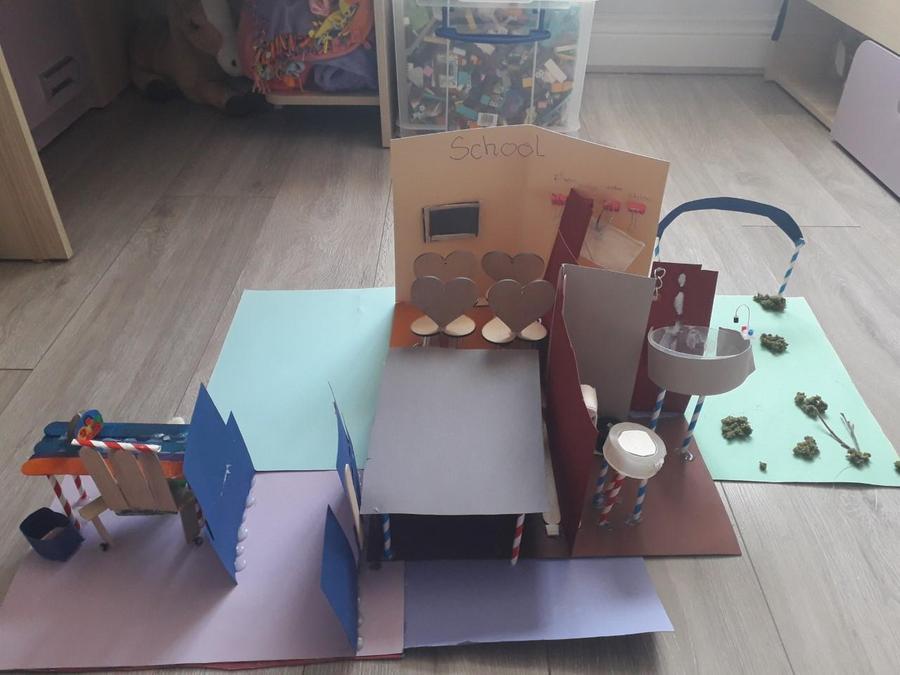 Agatha's classroom.