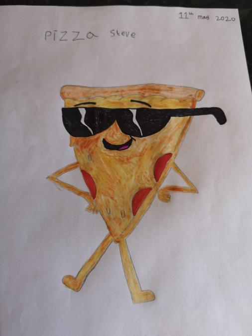 Preston's pizza man.
