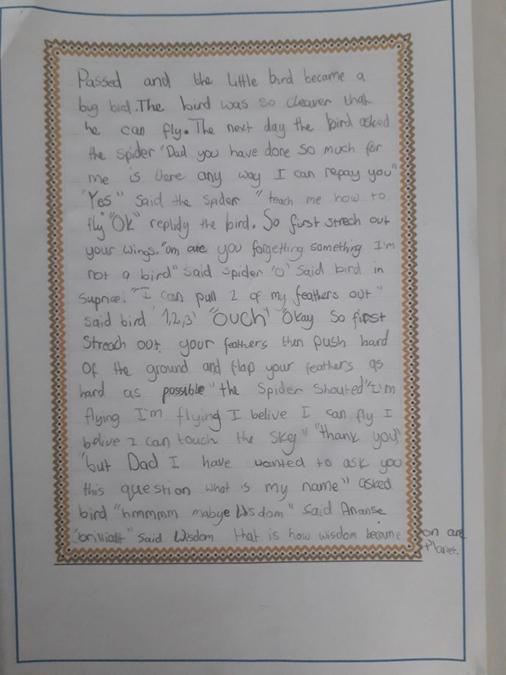 Agatha's story.