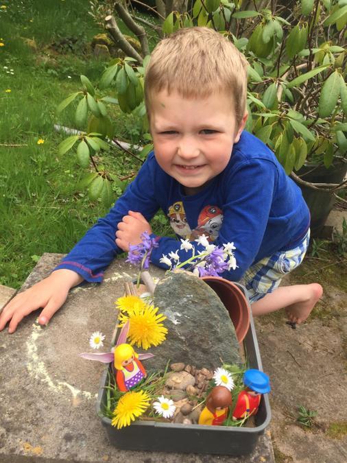 Max's Easter Garden