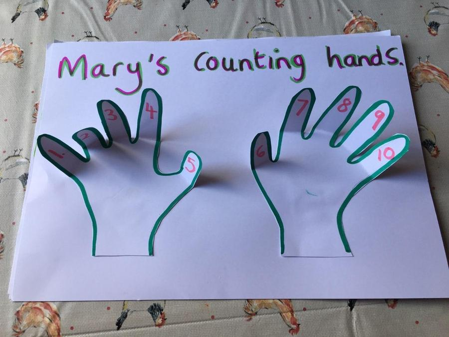 Mary's 'Counting hands'