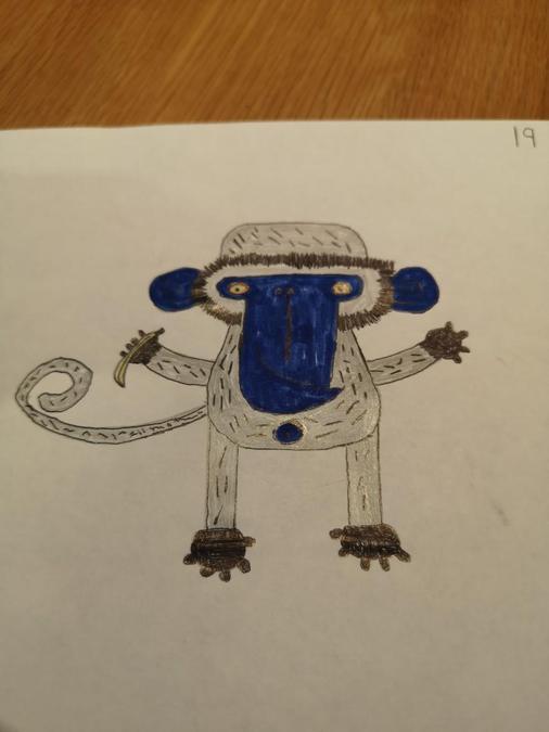 Some more of Preston's artwork.