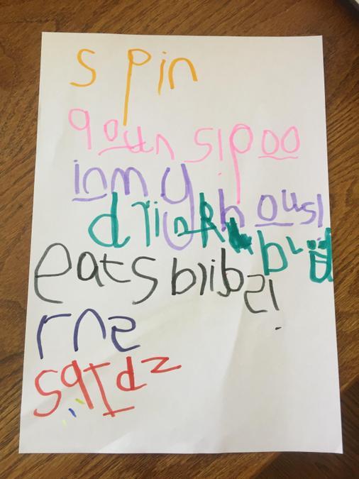 Max's spider poem