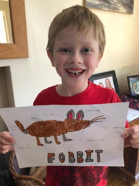A new animal - the fobbit!