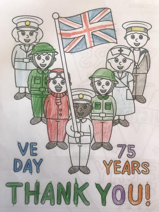 Dylan's VE Day poster