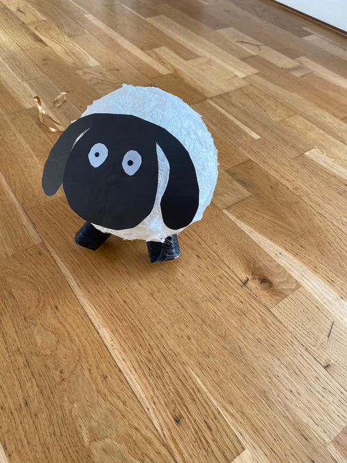 Madeleine's sheep joins the flock.