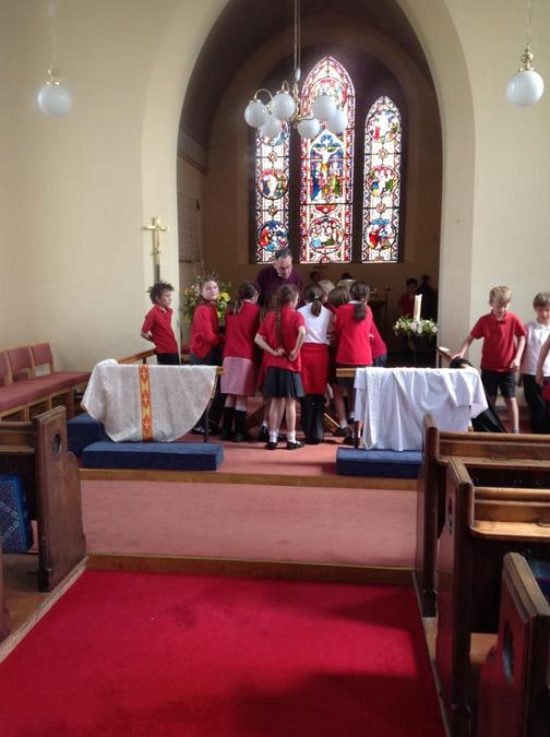 Year 5 Church Visit