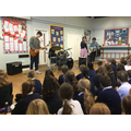 Highcliffe Rock Band came to visit