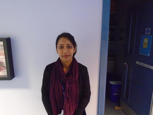 Mrs. Saha Teaching Assistant