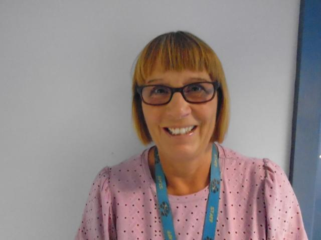 Mrs Hall Teaching Assistant