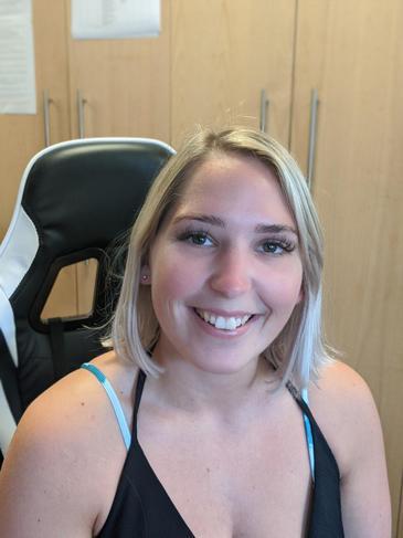 Miss Charlotte Blanch, Receptionist