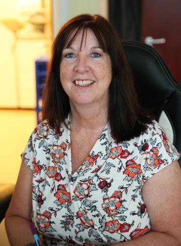 Mrs Tina Ray, Receptionist