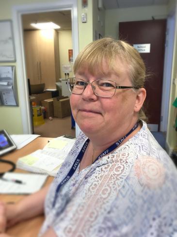 Mrs Jackie Albrow, SEN Support/Admin