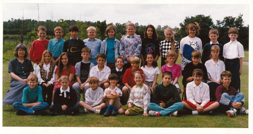 Class 6 1992 Thanks to Sue Hancock