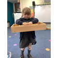 Using props to retell the story