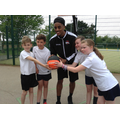 Jamell Anderson Visits Muskham Primary